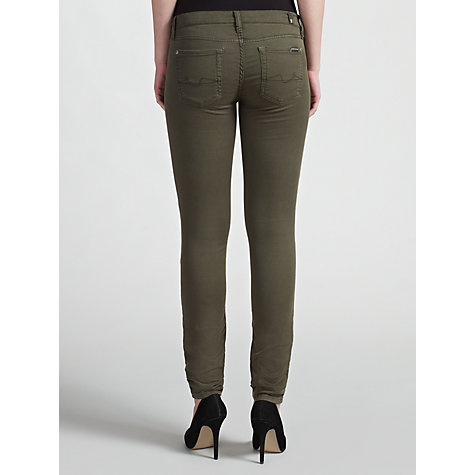 Buy 7 For All Mankind The Skinny Twill Jean Online at johnlewis.com