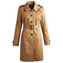 Buy Joules Maycroft Trench Coat, Dark Chino Online at johnlewis.com