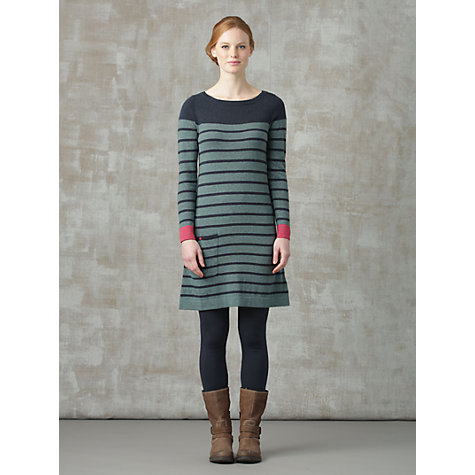 Buy Seasalt Woodwick Dress, Penare Seagreen Online at johnlewis.com