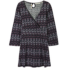 Buy Seasalt Tingle Tunic Top, Feathers Granite Online at johnlewis.com