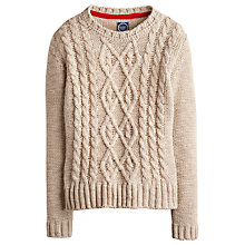 Buy Joules Avelyn Cable Knit Jumper Online at johnlewis.com