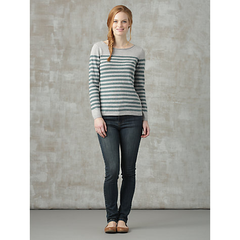 Buy Seasalt Tate Top, Nautical Thistle Online at johnlewis.com