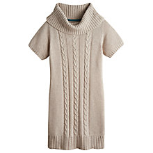 Buy Joules Erica Chunky Knit Tunic, Oat Online at johnlewis.com