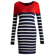 Buy Joules Maryam Knit Tunic, Navy Stripe Online at johnlewis.com