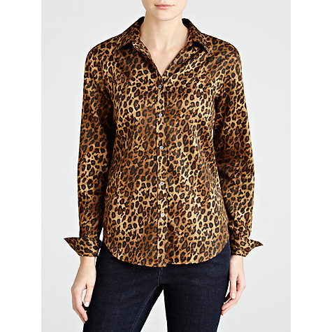 Buy Lauren by Ralph Lauren Ashur Leopard Print Shirt, Multi Online at johnlewis.com