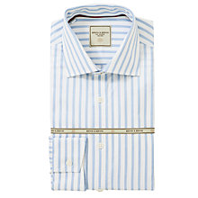 Buy Berwin & Berwin Butcher Stripe Shirt, Blue Online at johnlewis.com