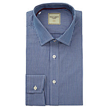 Buy Berwin & Berwin Fine Contrast Stripe Long Sleeve Shirt Online at johnlewis.com