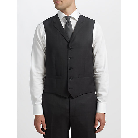 Buy Berwin & Berwin Windowpane Check 3 Piece Suit, Dark Grey Online at johnlewis.com