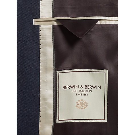 Buy Berwin & Berwin Pick and Pick Suit, Navy Online at johnlewis.com
