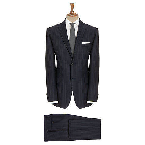 Buy Berwin & Berwin Triple Pinstripe Suit, Navy Online at johnlewis.com
