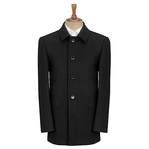 Buy John Lewis Classic Car Coat, Black Online at johnlewis.com