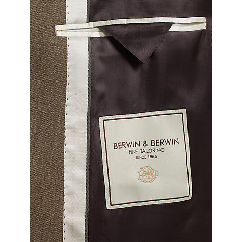 Buy Berwin & Berwin Covert Wool Overcoat Online at johnlewis.com