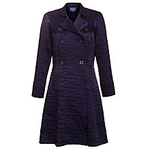 Buy Ghost Emmie Quilted Coat, Foxglove Online at johnlewis.com