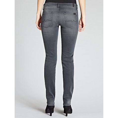 Buy 7 For All Mankind Roxanne Slim Jeans, Pure Dark Online at johnlewis.com