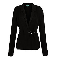 Buy Lauren by Ralph Lauren Jendaya Long Sleeved Cardigan, Black Online at johnlewis.com