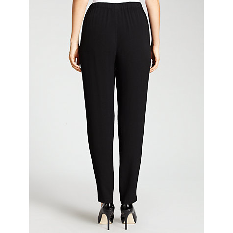 Buy Ghost Vivienne Trousers, Black Online at johnlewis.com