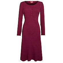 Buy Ghost Matilda Midi Dress,  Light Berry Online at johnlewis.com
