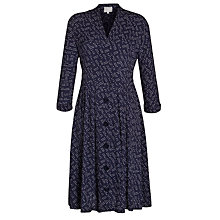 Buy Ghost Serena Dot Dress, Vintage Spot Navy Online at johnlewis.com
