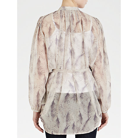 Buy Ghost Myla Tunic Top, Nude Online at johnlewis.com