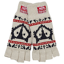 Buy Animal Rusutsu Fairisle Gloves, Cream Online at johnlewis.com