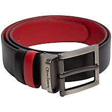 Buy Oliver Sweeney Malmsey Contrast Leather Belt Online at johnlewis.com