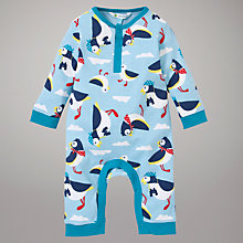 Buy John Lewis Pelican Sleepsuit, Blue Online at johnlewis.com