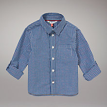 Buy John Lewis Roll Up Gingham Shirt Online at johnlewis.com