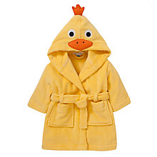 Buy John Lewis Novelty Duck Robe, Yellow Online at johnlewis.com