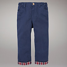 Buy John Lewis Chino Trousers, Navy Online at johnlewis.com