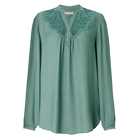 Buy John Lewis Capsule Collection Cut-Out Embroidered Blouse Online at johnlewis.com