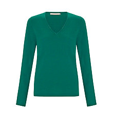 Buy John Lewis V-Neck Cashmere Jumper Online at johnlewis.com