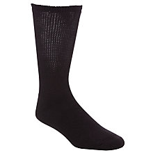 Buy HJ Hall Diabetic Socks, One Size, Black Online at johnlewis.com