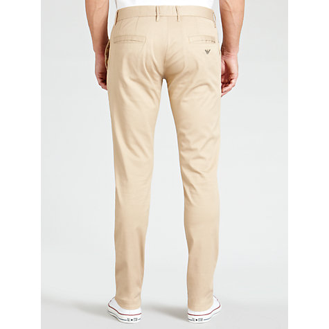 Buy Armani Jeans Comfort Stretch Chinos Online at johnlewis.com