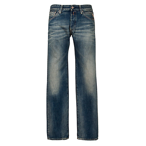 Buy Replay Lenrick Denim Jeans, Blue Online at johnlewis.com