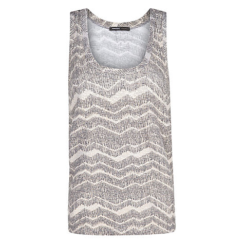 Buy Mango Textured Top, Grey Online at johnlewis.com