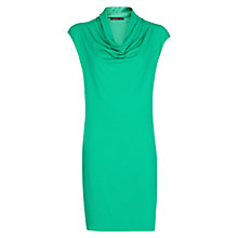 Buy Mango Drape Neckline Dress Online at johnlewis.com