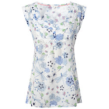Buy White Stuff Fluttering Top, Ice Cream Online at johnlewis.com