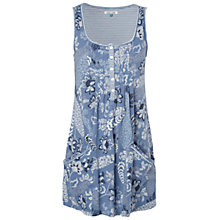 Buy White Stuff Airy Fairy Vest Top, Moonstone Blue Online at johnlewis.com