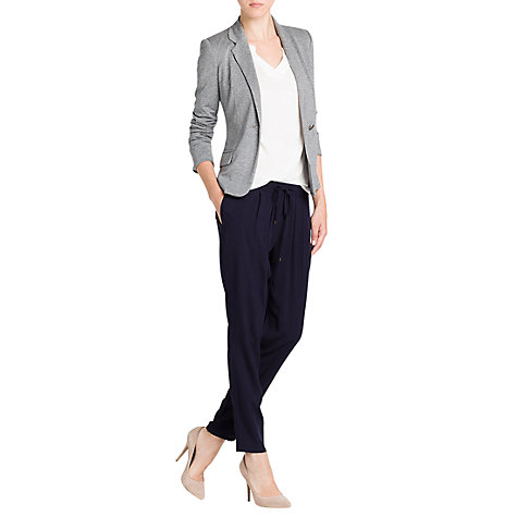 Buy Mango Jersey Blazer, Medium Grey Online at johnlewis.com