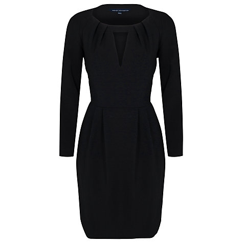 Buy French Connection Marie Dress, Black Online at johnlewis.com