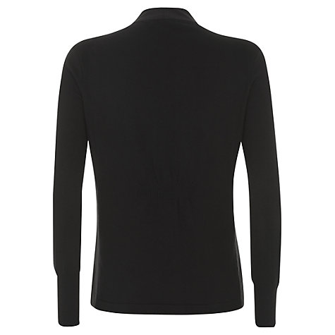 Buy Mint Velvet Biker Cardigan, Black Online at johnlewis.com