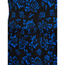 Buy French Connection Rose Print Dress, Electric Blue Multi Online at johnlewis.com