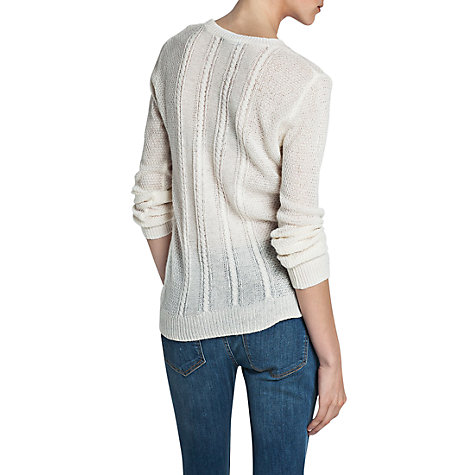 Buy Mango Cable Knitted Jumper Online at johnlewis.com