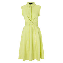 Buy Hobbs Gables Dress, Lemon Online at johnlewis.com