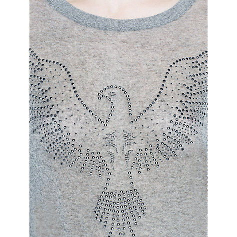 Buy Mango Eagle Strass Sweatshirt Online at johnlewis.com