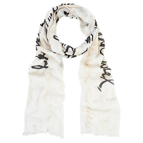Buy Mint Velvet Lila Print Scarf, Multi Online at johnlewis.com