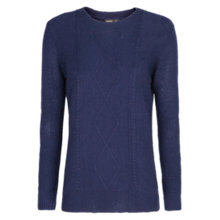 Buy Mango Cable Knit Sweater Online at johnlewis.com