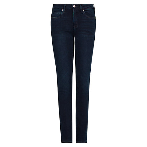 Buy Mango Super Slim Jeans, Dark Blue Online at johnlewis.com