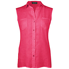 Buy Jaeger Sleeveless Patch Shirt Online at johnlewis.com