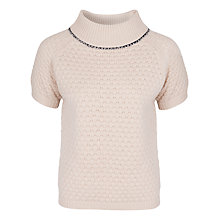 Buy French Connection Con Jumper, Milkshake Online at johnlewis.com